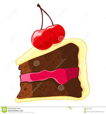 piece of chocolate cake clipart.  Chocolate Download Cartoon Icon Of A Piece Chocolate Cake With Lemon Icing And  Cherry To Clipart A