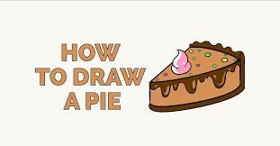 apple pie slice drawing. Brilliant Pie How To Draw A Pie Featured Image On Apple Pie Slice Drawing I
