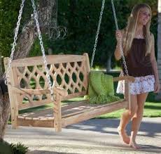 Small Picture 7 best Garden Swings Benches images on Pinterest Garden swings