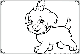 puppy coloring pages to print printable cute pictures and color of puppies page colo