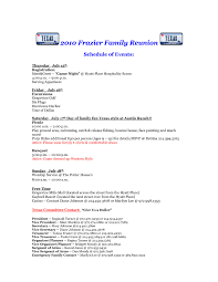 Printable Family Reunion Invitations Family Reunion Letter Template Collection