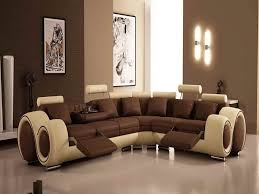 For Living Room Unique Brown Sofa ForModern Living Room Furniture