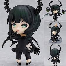4'' <b>Japan Anime</b> Action Figure Nendoroid Blade Miku <b>Black Rock</b> ...