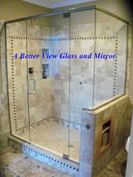custom glass shower enclosure 3 8 shower glass installed with glass surface protection and