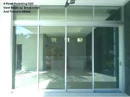 pella sliding glass door sliding patio doors awesome 4 panel sliding patio doors for 4 panel