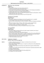 Fpga Design Engineer Resume Fpga Engineer Resume Samples Velvet Jobs