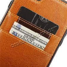 best genuine leather back cover credit card holder case for iphone 6 6s 4 7