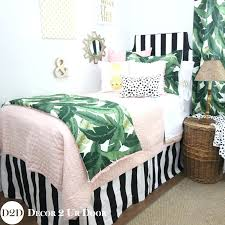 palm leaf bedding palm leaf black white light pink bedding palm leaf bedding uk