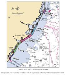 Noaa Tide Charts Nj H12687 Nos Hydrographic Survey New Jersey Coast And