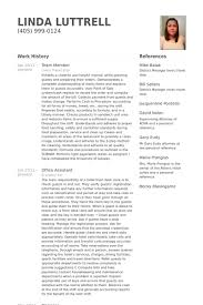 Team Member Resume samples
