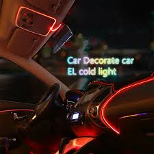 Car Light Decoration Youoklight 3m Flexible Neon El Wire Light Dance Party Decor