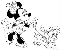Minnie Mouse Coloring Pages To Print Zupa Miljevcicom