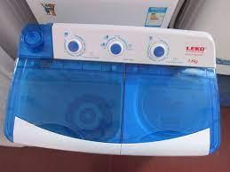 Máy giặt mini 2 ngăn Icon XPB60-8SC, có chức năng tự động giặt