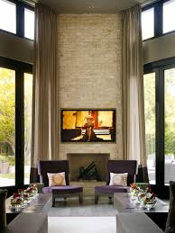 Stone Fireplaces Add Warmth And Style To The Modern HomeTall Fireplace
