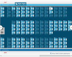 Klm Plane Seating Chart Klm Seat Map