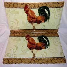 Round Rooster Kitchen Rugs Similiar Decorating With Rooster Theme Keywords