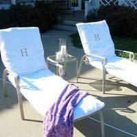 How to Make Towel Slipcovers for Outdoor Chairs In My Own Style