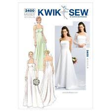 Prom Dress Sewing Patterns Fascinating Wedding Dress Sewing Patterns New EBay