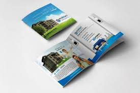 Mini Brochure Design 30 Desain Brosur Real Estate Inspiratif Marketing Perumahan