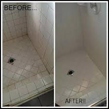 clean tiles and grout great cleaning grout in shower before and after tile and grout cleaning