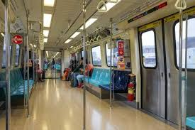 inside subway train. Exellent Inside A Couple Of People Inside A Clean Subway Train In Taipei Taiwan Stock  Photo  On Inside Subway Train O