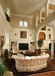NeoClassical Style Home traditional-living-room