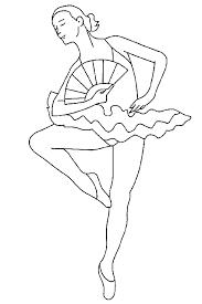 Beroepen Kleurplaten Ballerina