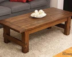 Handmade Wood Coffee Table, Farmhouse Coffee Table Design Ideas