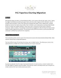 Pcc Paperless Charting Migration Training