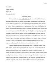 eng  gender analysis essay   luke  jessica luke heather  eng  gender analysis essay   luke  jessica luke heather murphey english