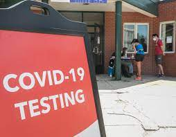 covid 19 testing at four sites in