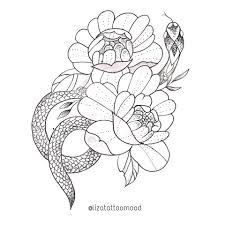сделать татуировку змея на бедро в городе челябинск по эскизу