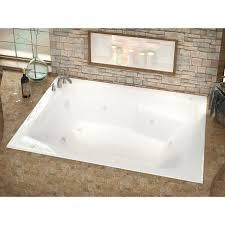 atlantis whirlpools caresse 54 x 72 rectangular whirlpool jetted bathtub