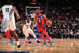 Charlotte Hornets at Detroit Pistons ...
