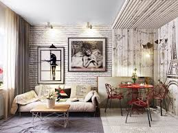 Image Brick Walls Interior Design Ideas Living Rooms With Exposed Brick Walls