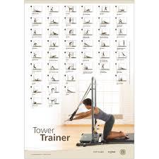 Pilates Wall Chart Stott Pilates Wall Chart Fitness Planners Advanced Matwork