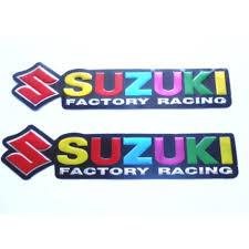 decal x3 suzuki racing sticker archives