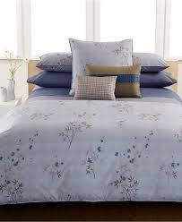 calvin klein bamboo flower king comforter soc 1048