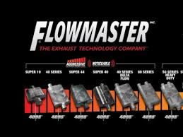 Flowmaster Aggressive Chart How Much Does Flowmaster Exhaust Cost