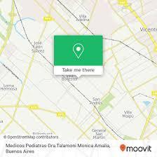 How to get to Medicos Pediatras-Dra.Talamoni Monica Amalia in ...