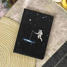Space <b>Astronaut Starry Sky</b> Apple iPad Cover Case – Flamingo