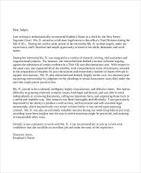 Letter Of Recommendation For Office Clerk 38 Sample Recommendation Letters In Pdf