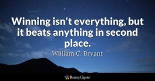 Winning Quotes Simple Second Place Quotes BrainyQuote