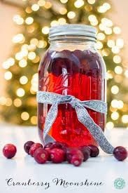 cranberry moonshine a delicious gift you can make in big batches for friends