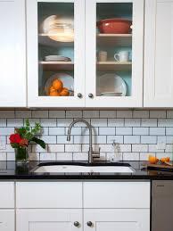 white kitchen cabinets subway tile backsplash lovely matte white subway tile backsplash