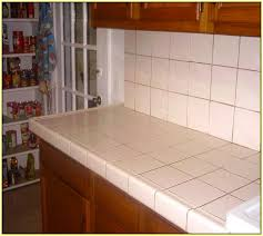 white tile kitchen countertops. Simple White Ceramic Tile Countertops Pictures Inside White Kitchen