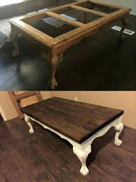 wood and glass coffee table redo coffee table with wooden top instead of glass black wood wood and glass coffee table