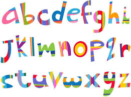 the creative letters designed 10 vector