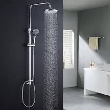 Bonade Duschset Ohne Wasserhahn Regendusche Duscharmatur Duschsystem Mit Duschkopf Und Handbrause Shower Set Für Badezimmer Kupfer Dusche