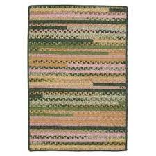 hearth rectangular spring 2 ft x 3 ft braided area rug